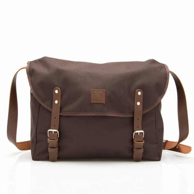 Tisza Shoes - BP Táska - Messenger-Brown