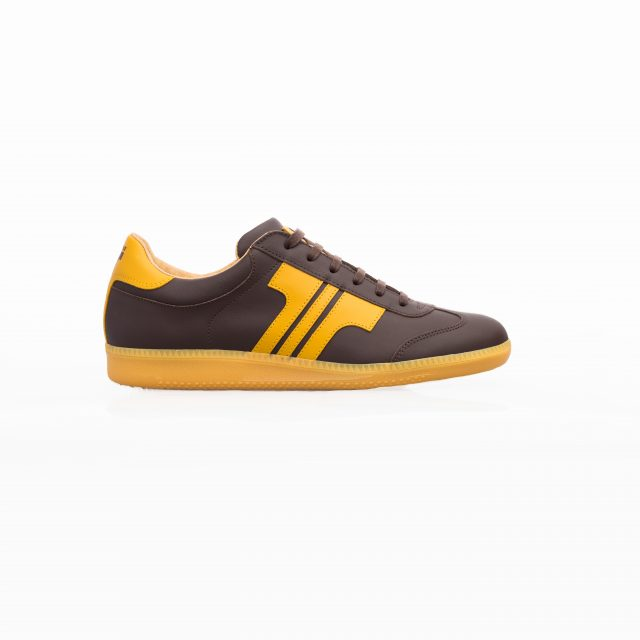 Tisza shoes - Compakt - Brown-yellow