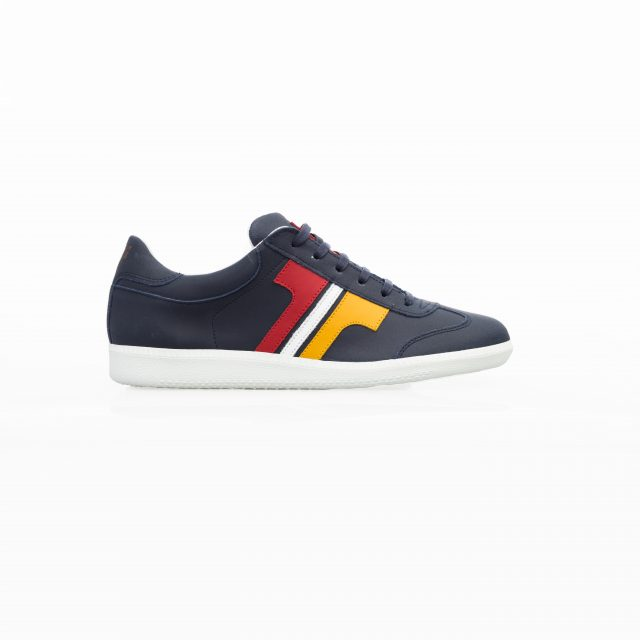 Tisza shoes - Compakt - Darkblue-yellow-white-red