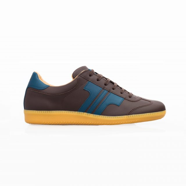 Tisza shoes - Compakt - Brown-bluecoral