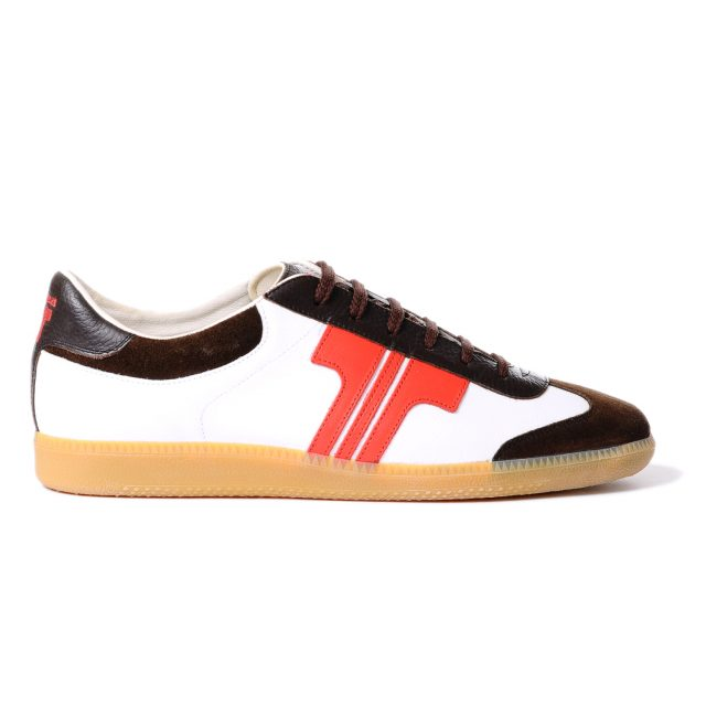 Tisza shoes - Compakt - White-red-brown