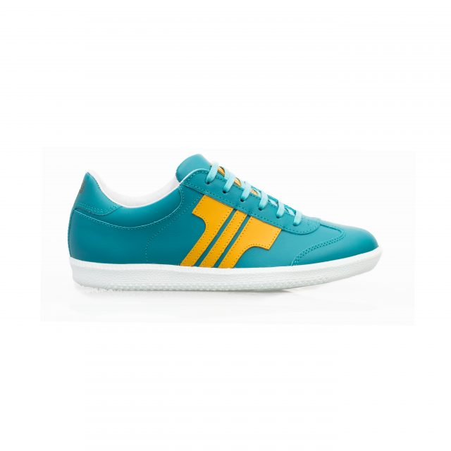 Tisza shoes - Compakt - Aqua-yellow