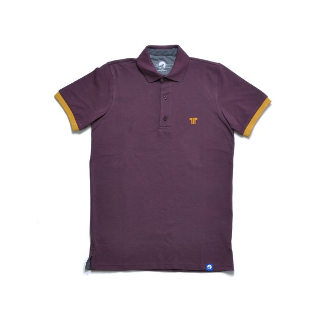 Tisza shoes - Tennis shirt - Claret