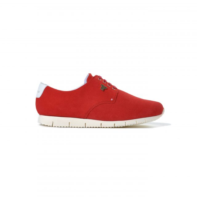 Tisza shoes - Public - Cherry-white