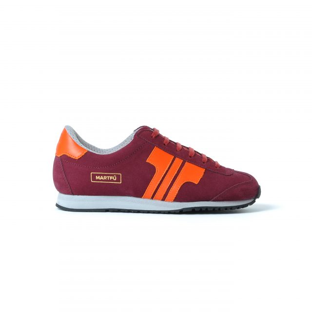 Tisza shoes - Martfű - Claret-orange