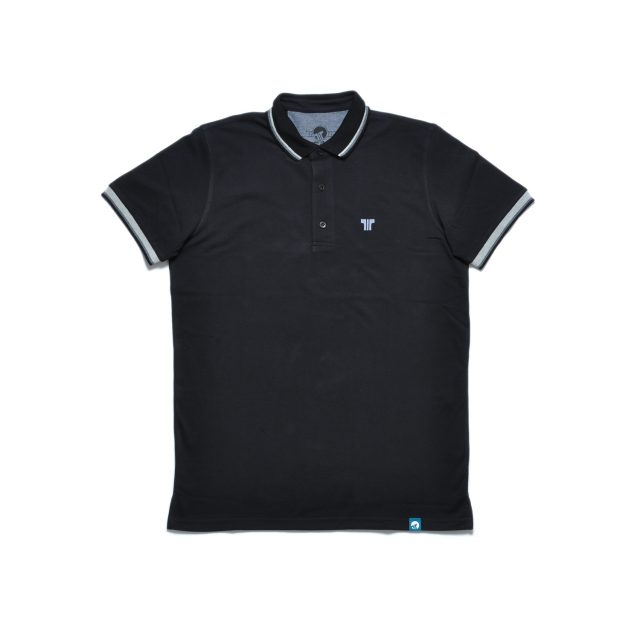 Tisza shoes - Tennis shirt - Black-grey