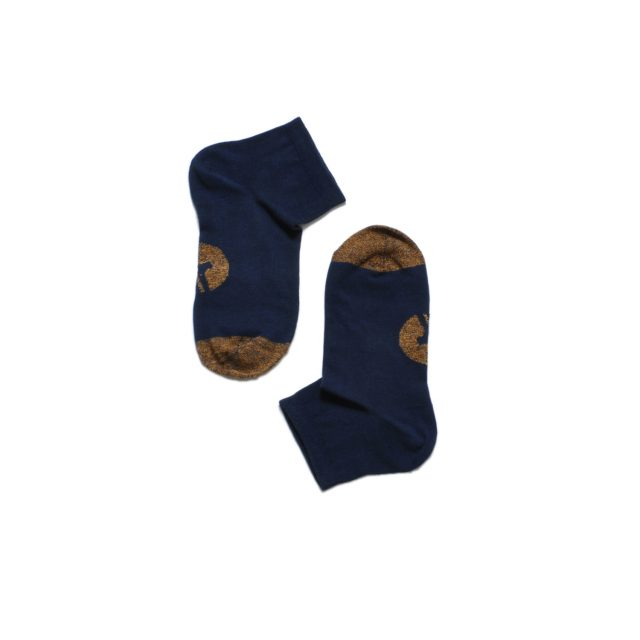 Tisza shoes - Socks - Navy-tobacco