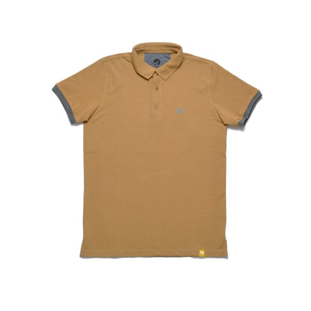 Tisza shoes - Tennis shirt - Tobacco