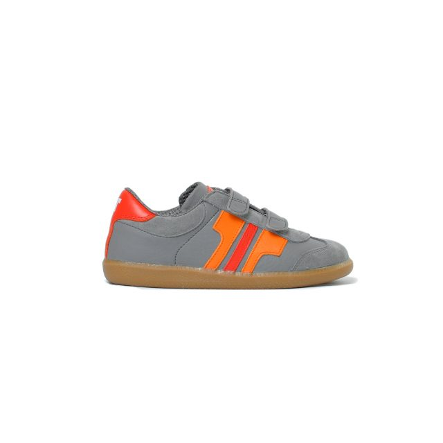 Tisza shoes - Junior - Grey-orange-red