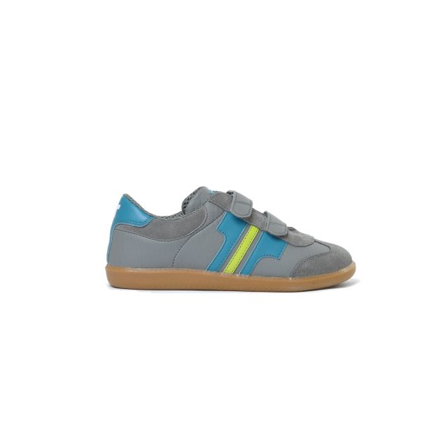 Tisza shoes - Junior - Grey-aqua-anise