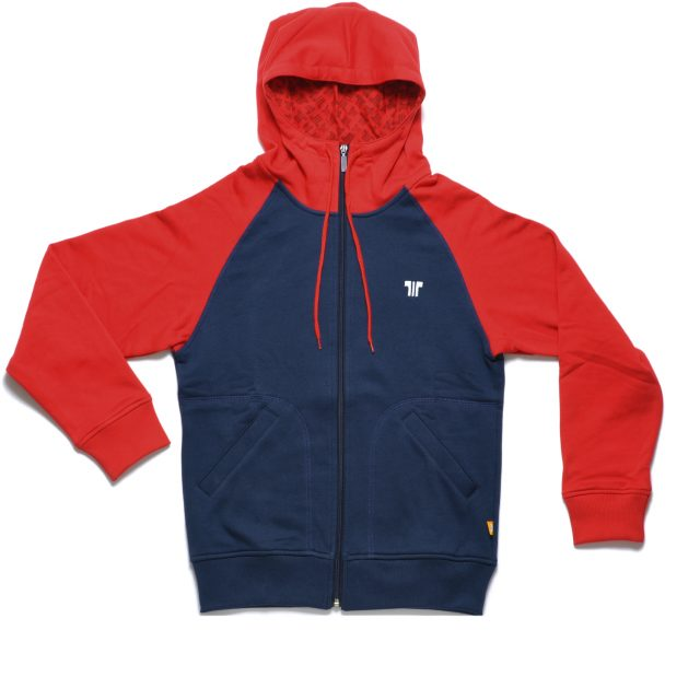 Tisza shoes - Pullover - Navy-red hoodie