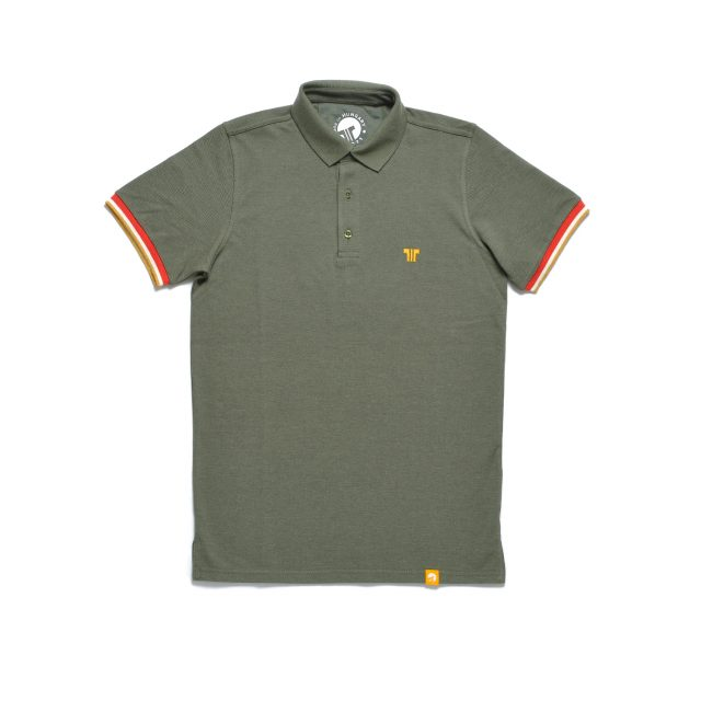 Tisza shoes - Tennis shirt - Olive