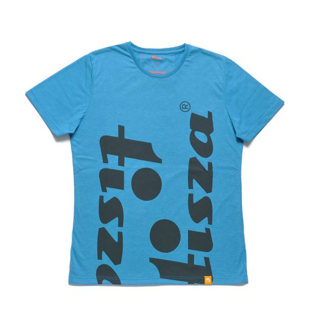 Tisza shoes - T-shirt - Turquoise-caracter