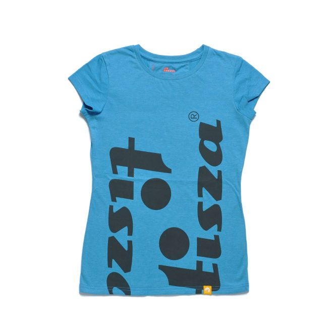 Tisza shoes - Woment T-shirt - Turquoise-idol
