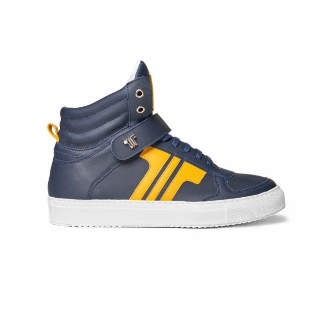 Tisza Shoes - M4 - Navy-yellow