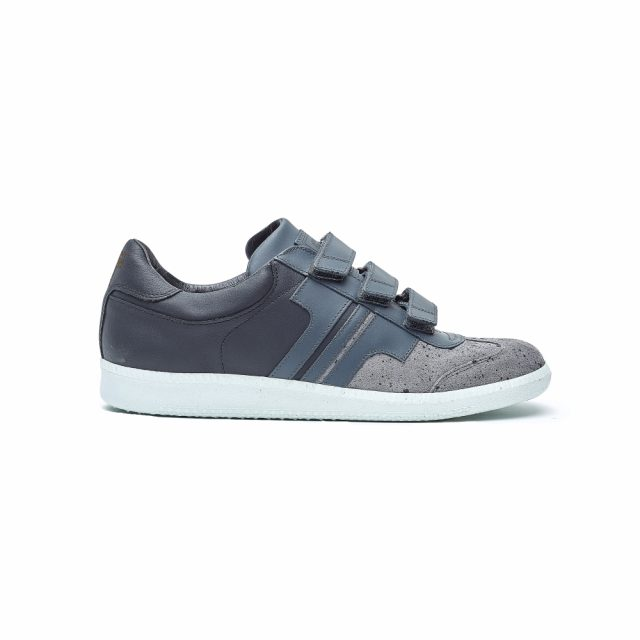 Tisza Shoes - Compakt Delux - grey-shadow-black