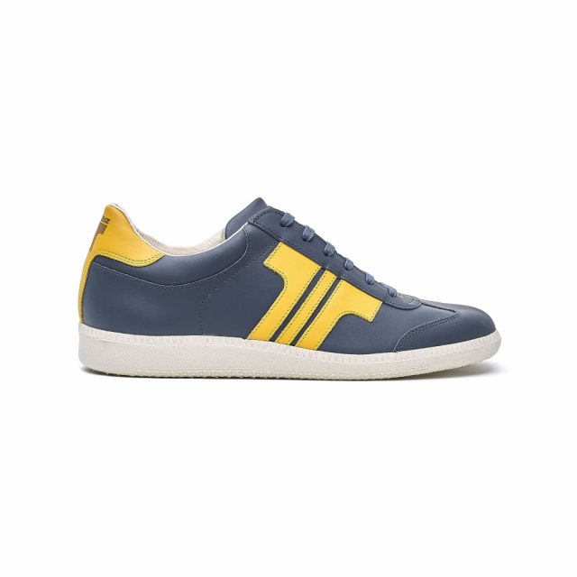 Tisza Shoes - Compakt - navy-yellow