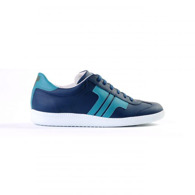 610cd22e4c ... Tisza shoes - Compakt - Darkblue-aqua ...
