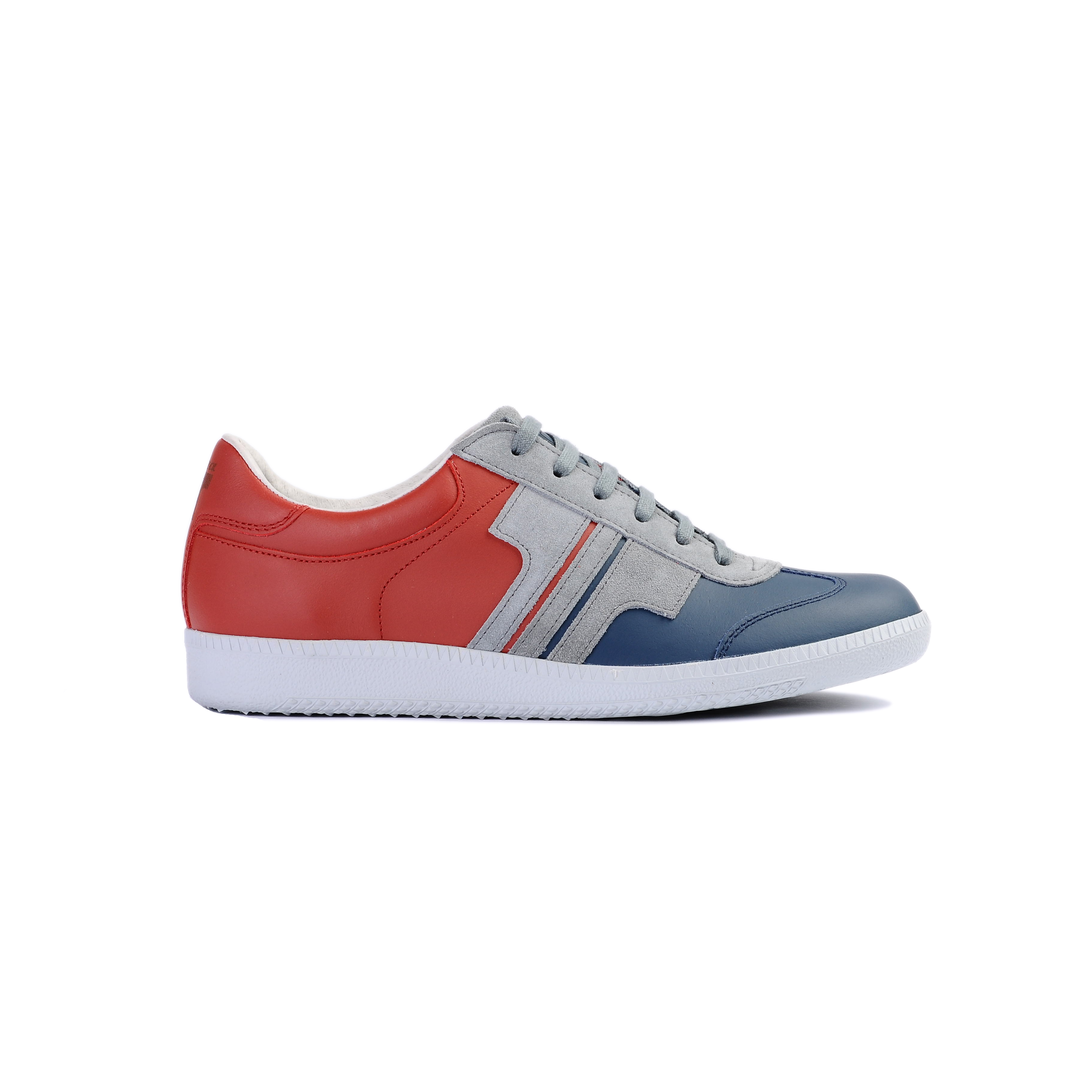 Tisza shoes - Compakt - Navy-grey-cherry