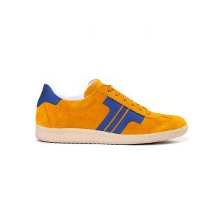Tisza shoes - Comfort - Yellow-royal
