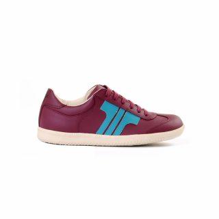 Tisza Shoes  - Compakt - Claret-aqua