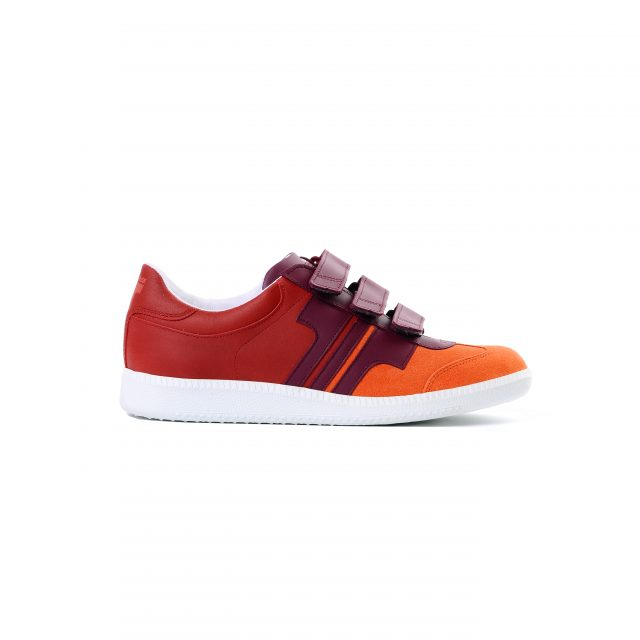Tisza shoes - Compakt delux - Salmon-claret-cherry