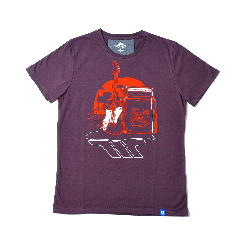 Tisza shoes - T-shirt - Claret