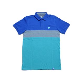 Tisza shoes - Tennis shirt - Jeans-grey-aqua