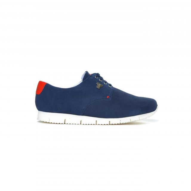 Tisza shoes - Public - Darkblue-red