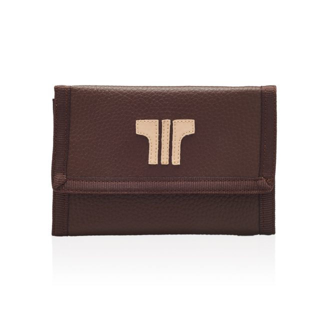 Tiza Shoes - Wallets - Brown-beige