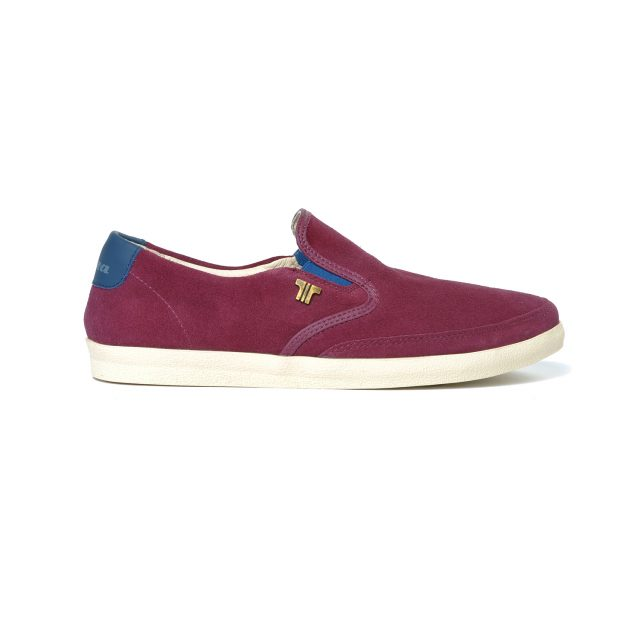 Tisza shoes - Regatta - Claret-darkblue