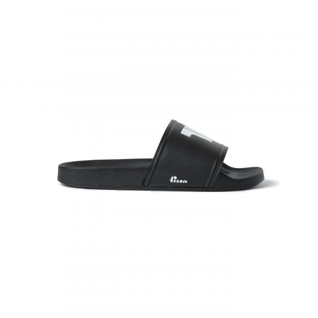 Tisza shoes - Sliders - Black-white
