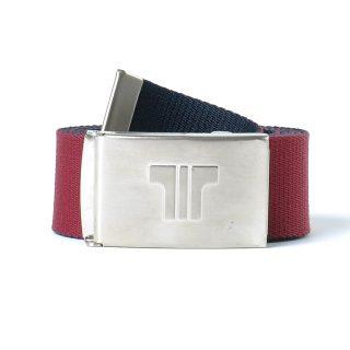 Tisza shoes - Belt - Claret-blue