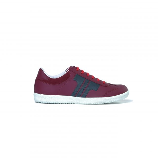 Tisza shoes - Compakt - Claret-shadow