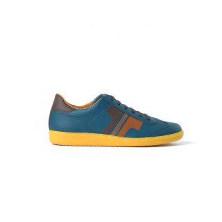 Tisza shoes - Compakt - Blue coral-3brown