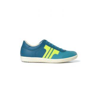 Tisza shoes - Compakt - Aqua-blue coral-Anise
