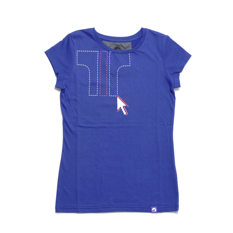 Women T-shirt Cursor — T-shirts — Tisza Shoes® 855b85a5ce