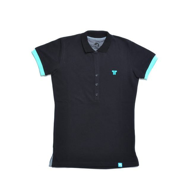 Tisza shoes - Tennis shirt - Black-mint