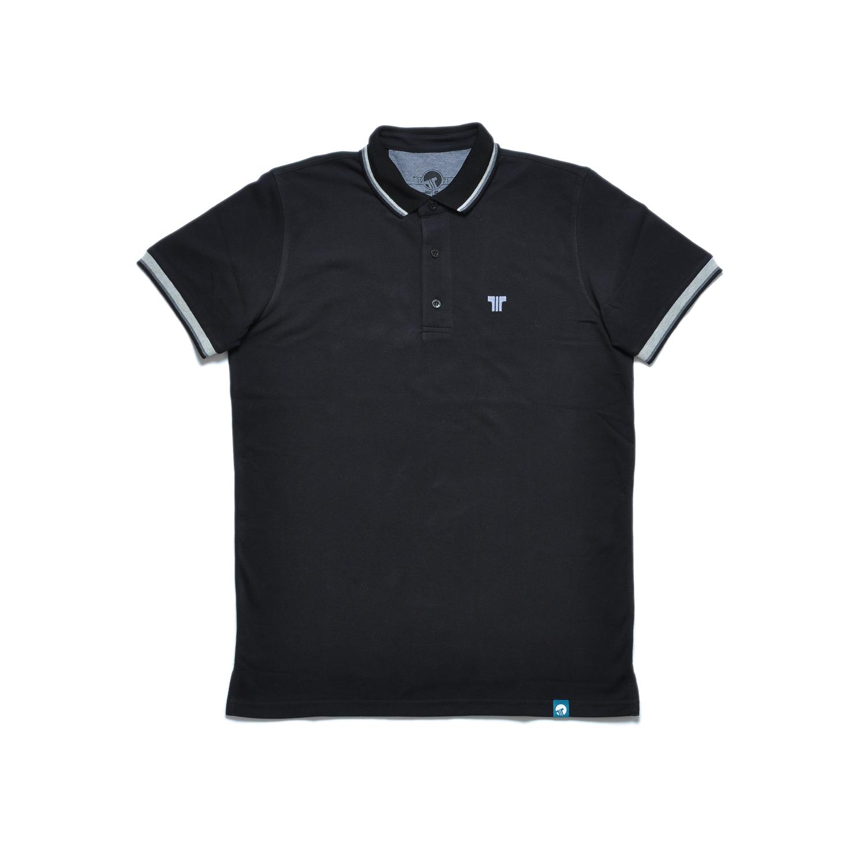 Tisza shoes - Tennis shirt - Black-grey
