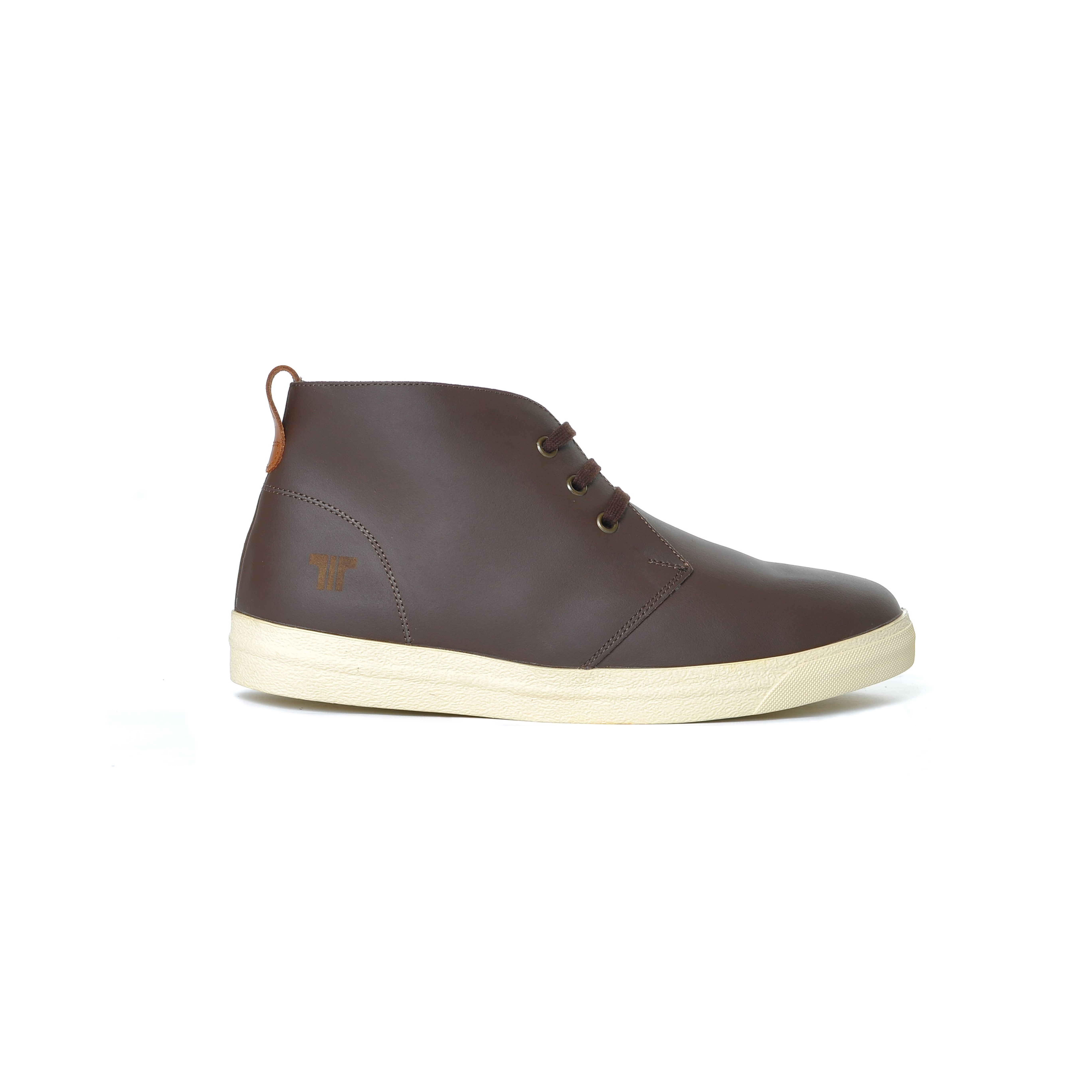 Tisza shoes - Alfa - Brown-tobacco padded