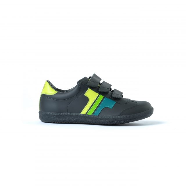 Tisza shoes - Compakt delux - Black-3green