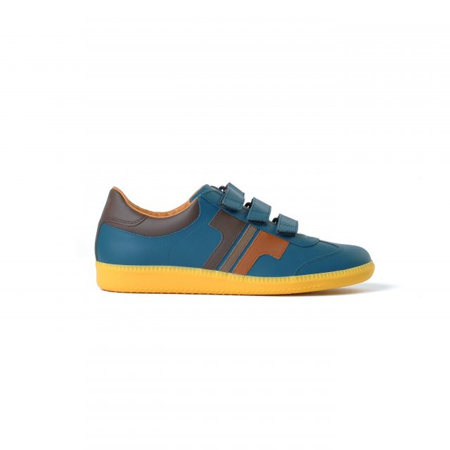 Tisza shoes - Compakt delux - Blue coral-3brown