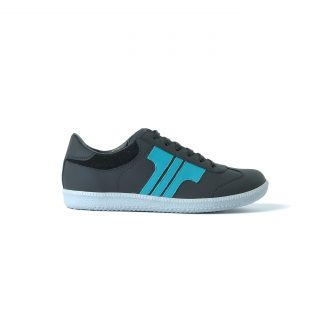 Tisza shoes - Compakt - Black-aqua