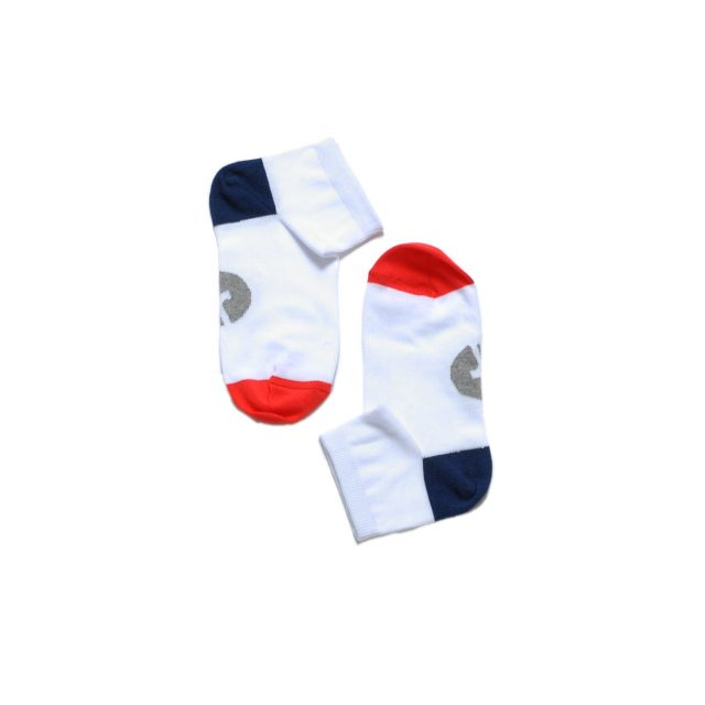 Tisza shoes - Socks - White-blue-red
