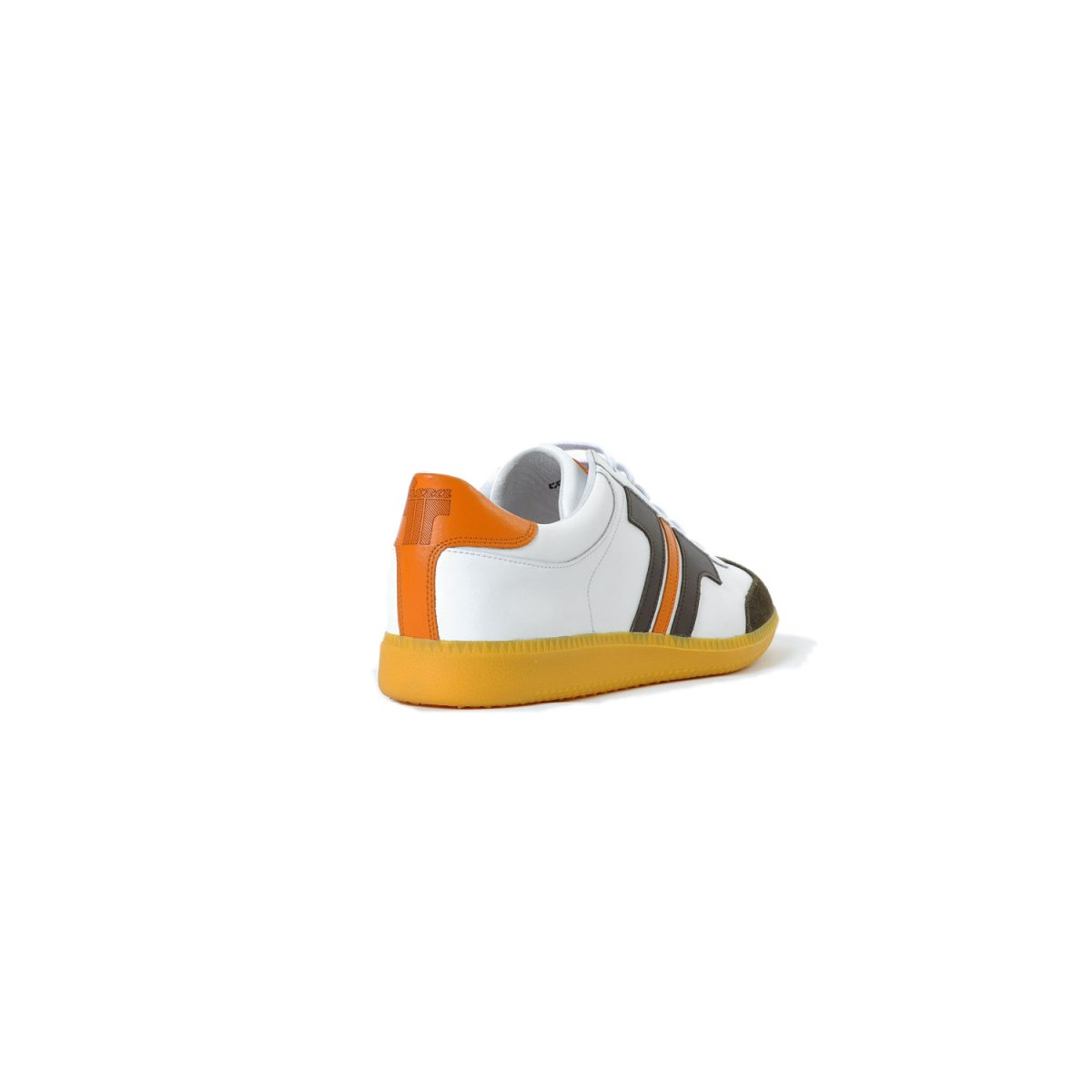Tisza shoes - Compakt - White-brown-orange