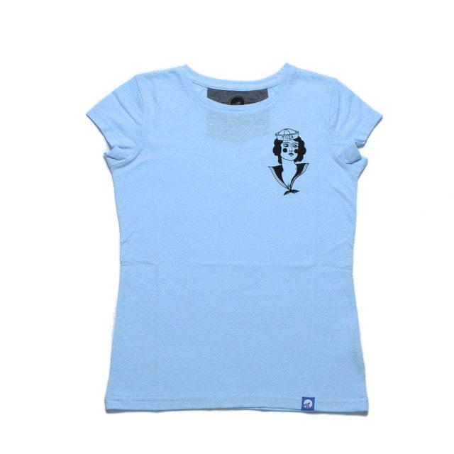 Tisza Shoes - T-shirt - Women T-shirt Sailor girl