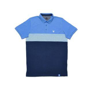Tisza shoes - Tennis shirt - Fjord-navy