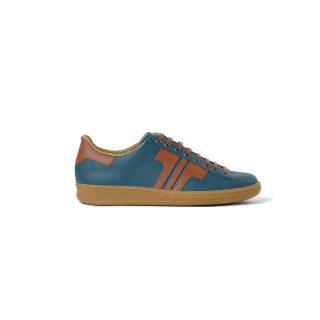 Tisza shoes - Tradíció'80 - Blueacora-rust