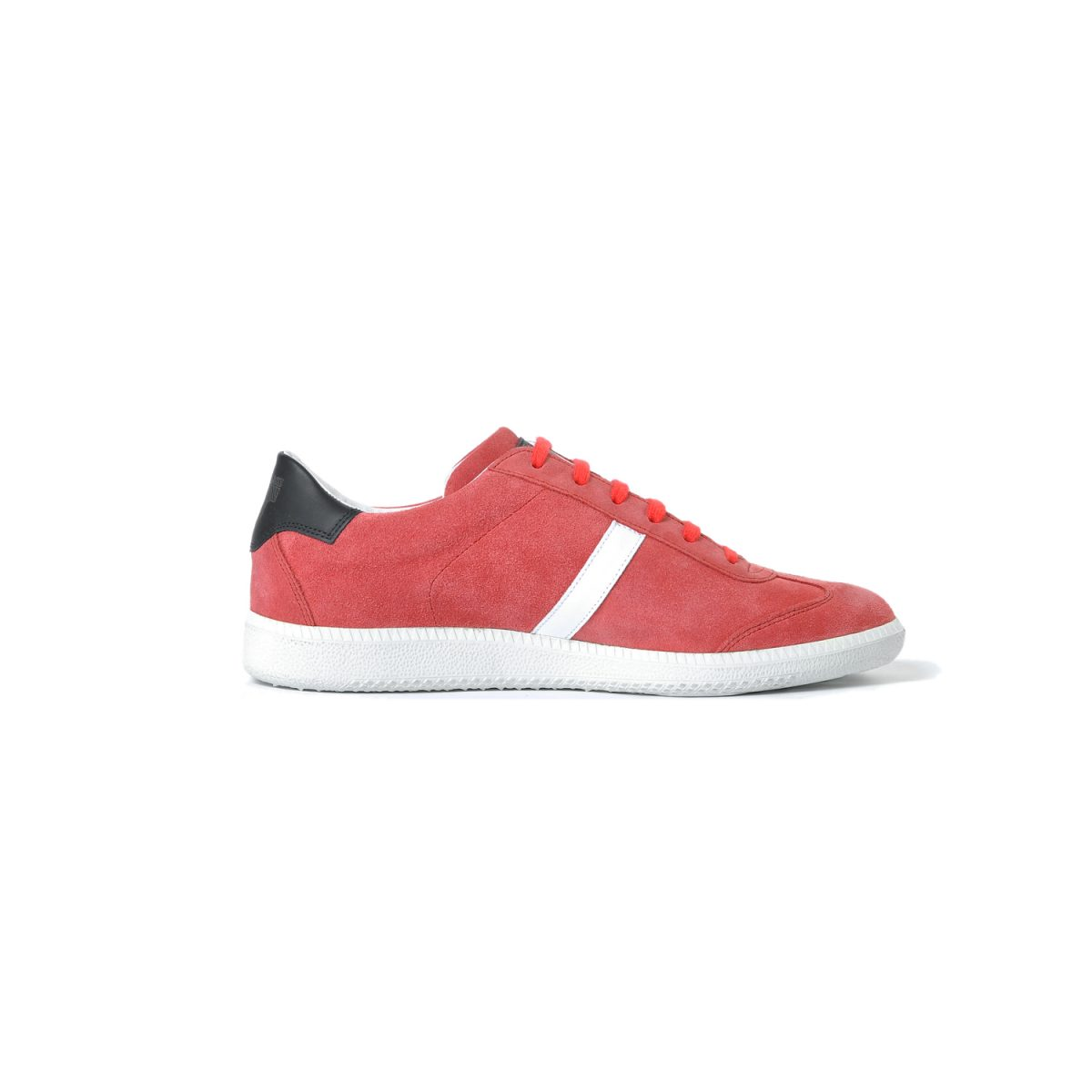 Tisza shoes - Comfort - Red-black-white