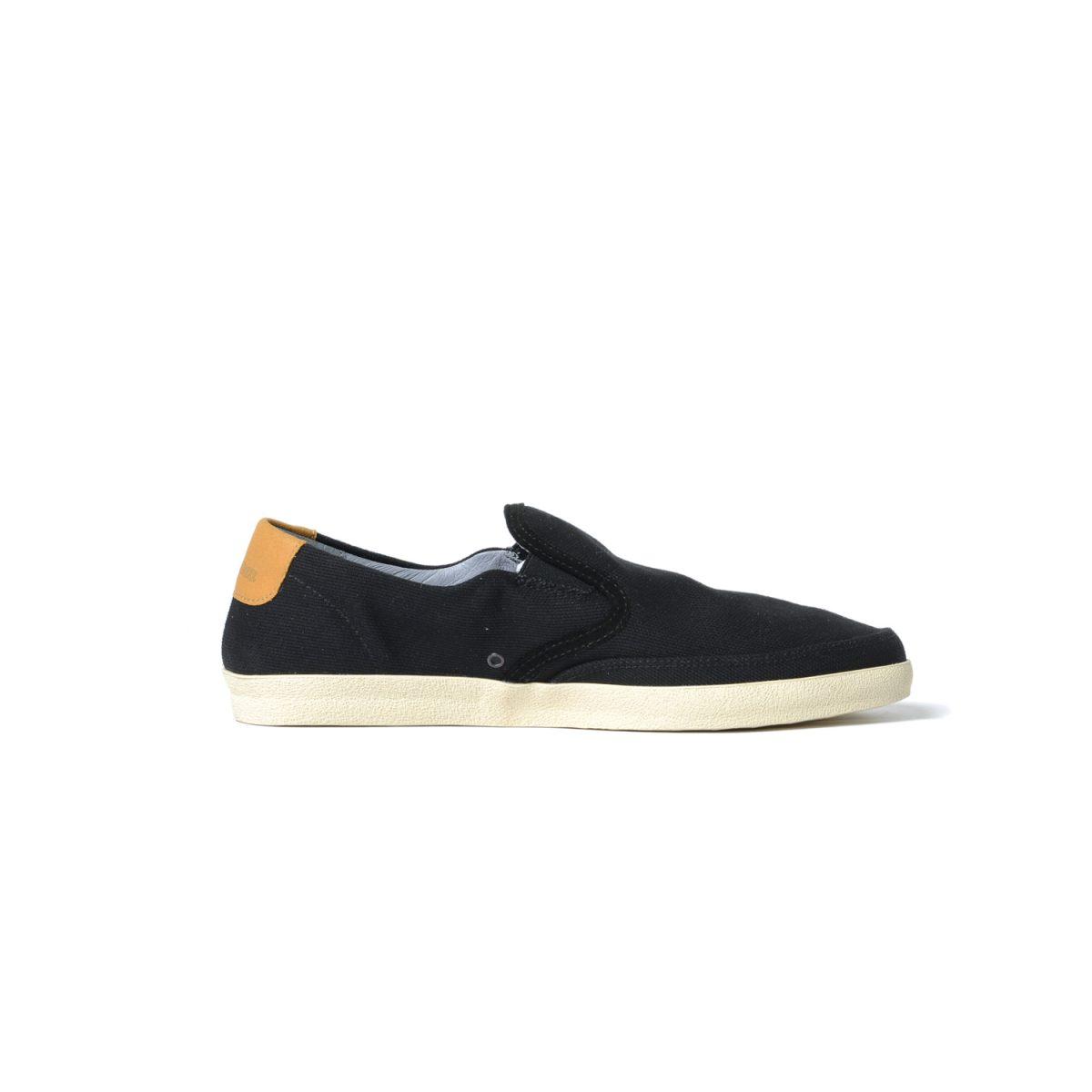 Tisza shoes - Regatta - Black-tobacco